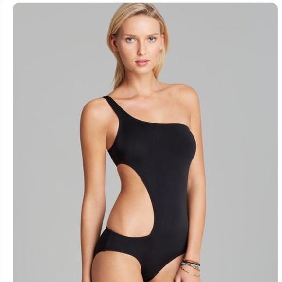 2549d340c1b Dkny Swim | One Shoulder Cut Out Suit | Poshmark